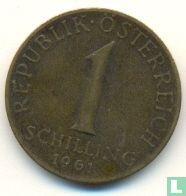 Austria 1 schilling 1961