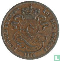 België 1 centime 1856