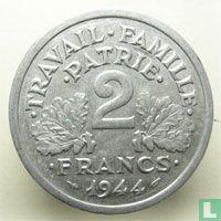 Frankreich 2 Franc 1944 (B)