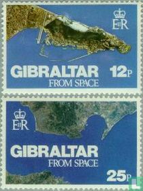 Gibraltar from outer space