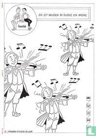 Er zit muziek in Suske en Wiske
