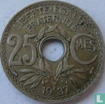 Frankrijk 25 centimes 1937