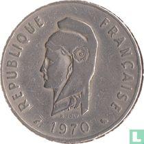 Frans Afar- en Issaland 100 francs 1970