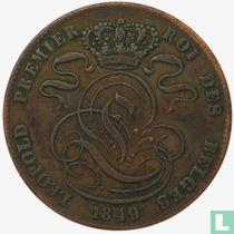 Belgique 5 centimes 1849