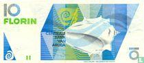 Aruba 10 Florin 1990