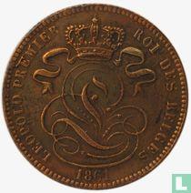 België 1 centime 1861