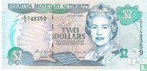 Bermuda 2 Dollars