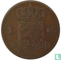Netherlands 1 cent 1821 (Brussel)