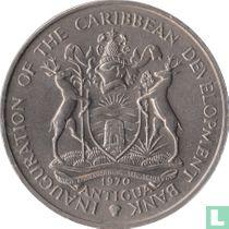 "Antigua and Barbuda 4 dollars 1970 ""FAO - Inauguration of the Caribbean development bank"""