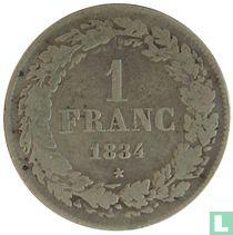 België 1 franc 1834