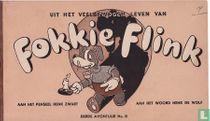 Uit het veelbewogen leven van Fokkie Flink - 3e avontuur No. 8