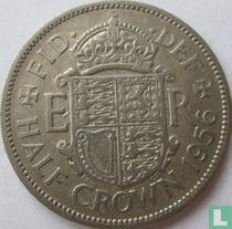 Royaume-Uni ½ crown 1956