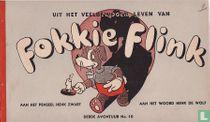 Uit het veelbewogen leven van Fokkie Flink - 3e avontuur No. 10