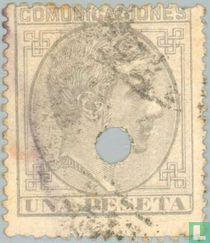 Le roi Alphonse XII