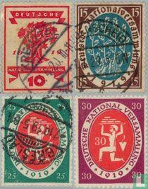 1919 Nationale vergadering Weimar (DR 20)