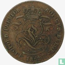 België 2 centimes 1852