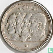 België 100 francs 1949 (NLD - muntslag)