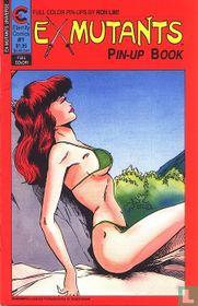 Ex Mutants Pin-up book