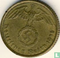Duitse Rijk 5 reichspfennig 1938 (G)