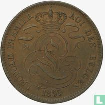 België 10 centimes 1855