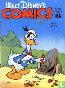 Walt Disney's Comics and Stories 10