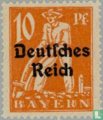 print on stamps of Bavaria for sale