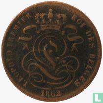 België 1 centime 1862