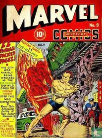 The Human Torch Vs. the Sub-Mariner