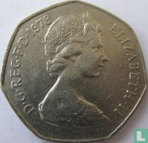 Verenigd Koninkrijk 50 new pence 1978