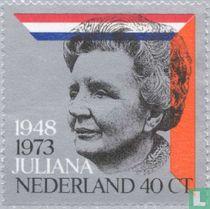 Koningin Juliana - Regeringsjubileum