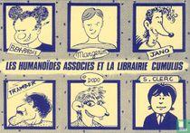 Uitnodigingskaart signeersessie Librairie Cumulus/Les Humanoïdes Associés