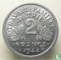 Frankreich 2 Franc 1944 (C)