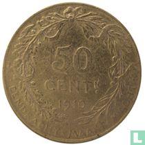 België 50 centimes 1910 (NLD)