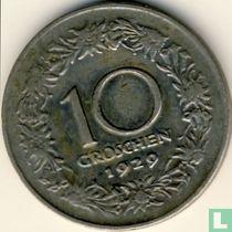 Austria 10 groschen 1929