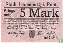 I Lauenburg Pommern 5 Mark