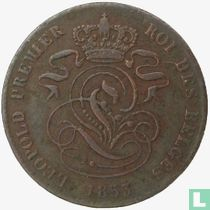 België 2 centimes 1853
