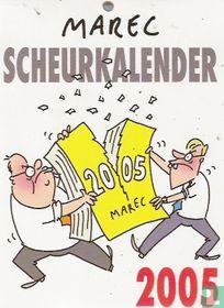 Marec scheurkalender 2005