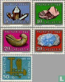 Edelstenen en fossielen - Pro Patria