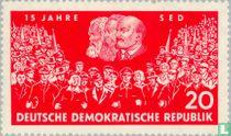 Socialistische partij 15 jaar