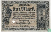 Altenburg 5 Mark