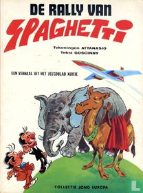 De rally van Spaghetti