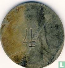 Nederlands-Indië 1 dollar 1902 Plantagegeld, Sumatra, Asahan Tabak maatschappij SILAU
