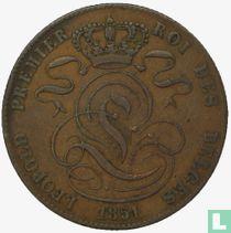 België 5 centimes 1851