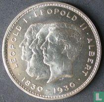 """België 10 francs 1930 (NLD) """"Centennial of Belgium's Independence"""""""