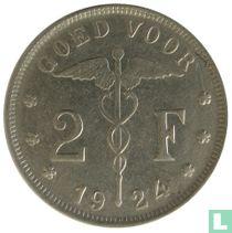 België 2 francs 1924