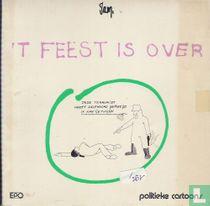 't Feest is over - Politieke cartoons