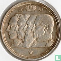 België 100 francs 1951