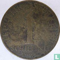 Austria 1 schilling 1965