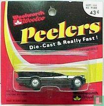 Batmobile Fastwheel - Woolworth Peelers card