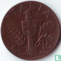 Italien 10 Centesimi 1937
